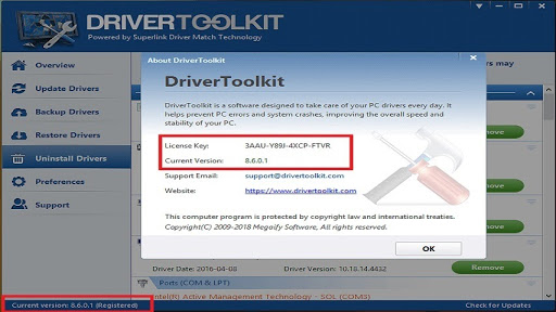 key driver toolkit