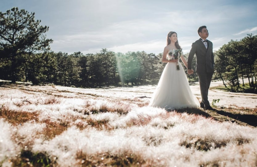 kinh nghiệm chụp ảnh cưới mộc châu 1