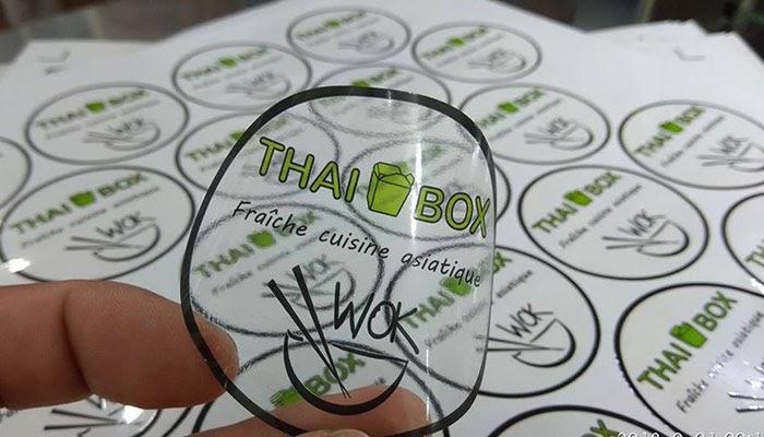 In sticker số lượng ít giá ưu đãi tại VIETADVER