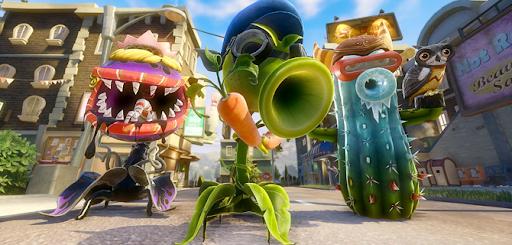 Chiến đấu cùng Plants Vs Zombie