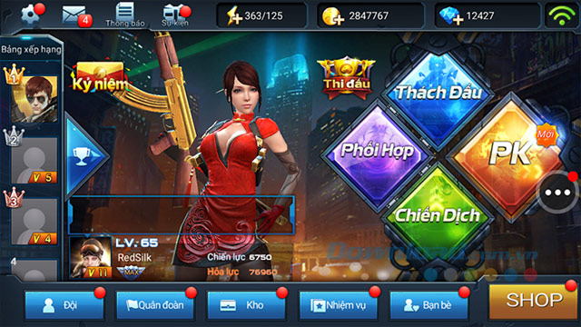 Game chiến dịch huyền thoại