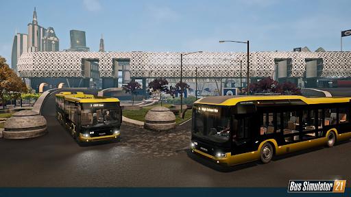 Game có nhiều mô hình xe bus hiện đại