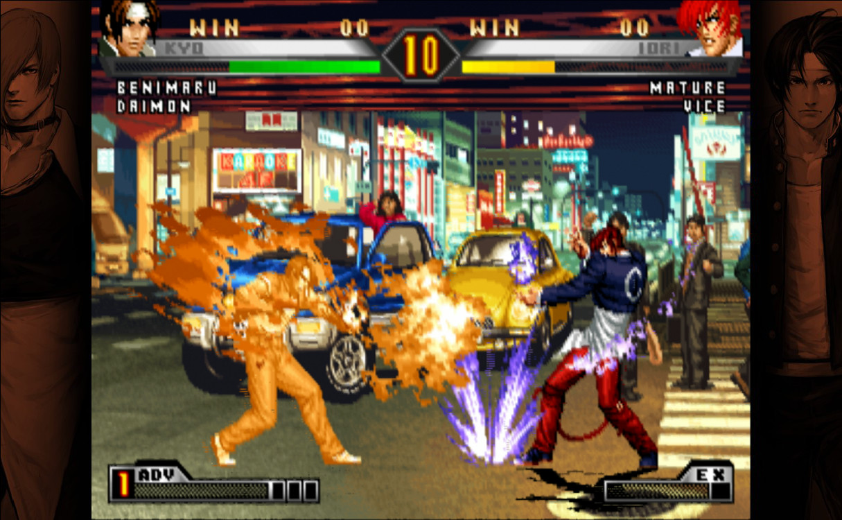 Game the king of fighters 98 cho PC
