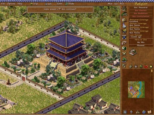 Giao diện game Emperor Rise Of The Middle Kingdom