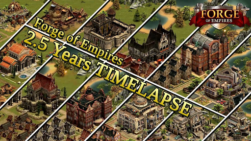 Giao diện game Forge of Empires