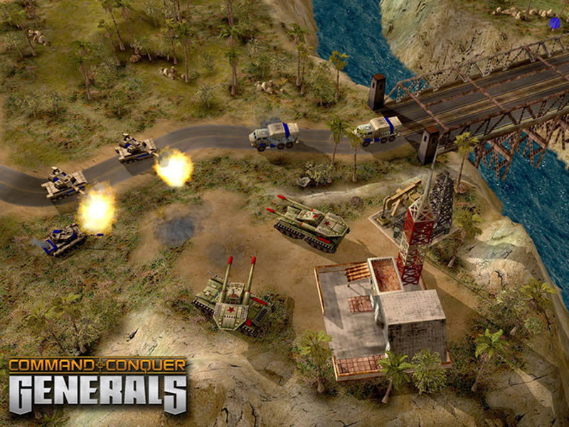 Giao diện game command conquer