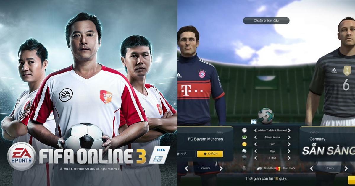 Giao diện game fifa online 3
