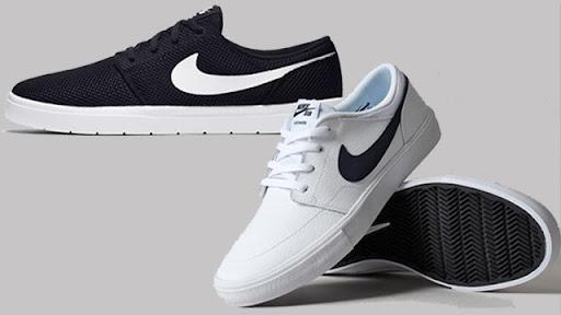 Phối đồ với giày thể thao nike có tông màu đen và trắng